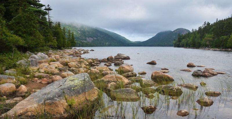 Rock Climbing Photo: Jordan Pond