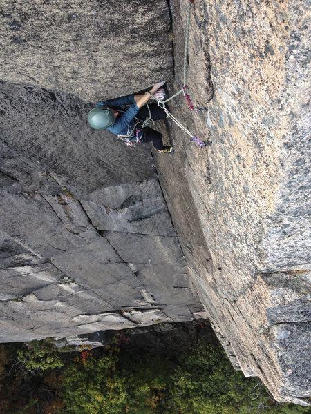 Rock Climbing Photo: south wall