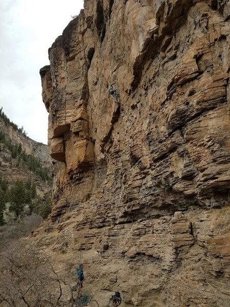 Rock Climbing Photo: Are we having fun yet? Gigantor.