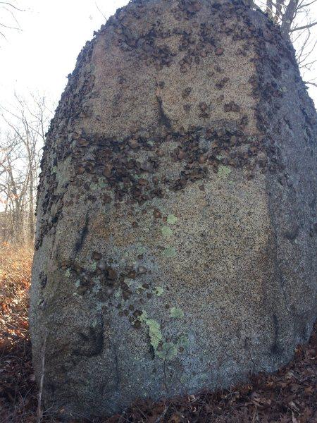 Rock Climbing Photo: Bow Ridge 55.