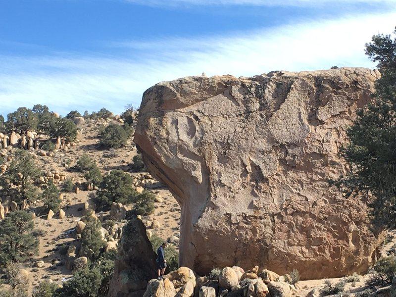 Rock Climbing Photo: Wavy