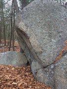 Rock Climbing Photo: Nice arete in Salem Boulders.