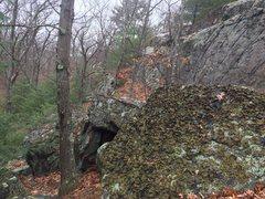 Rock Climbing Photo: Short walls.