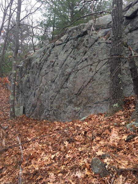 Rock Climbing Photo: Nells Pond 09.