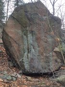 Rock Climbing Photo: Nells Pond 12 - Mother, South face.