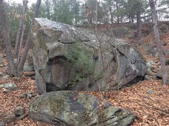 Rock Climbing Photo: Nells Pond 12 - Mother, East face.