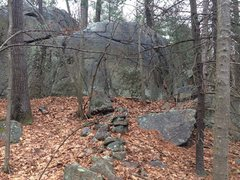 Rock Climbing Photo: Hawkes Pond 01.