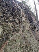 Rock Climbing Photo: Hawkes Pond 01.