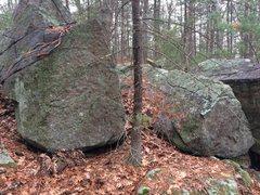 Rock Climbing Photo: Hawkes Pond 06.