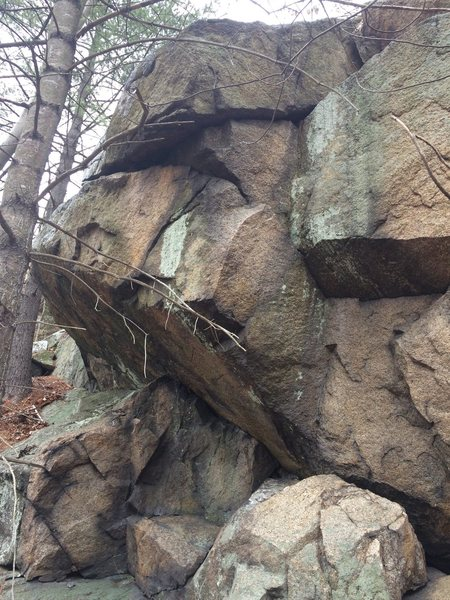 Rock Climbing Photo: Hawkes Pond 10.