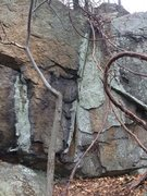 Rock Climbing Photo: Hawkes Pond 11.
