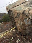Rock Climbing Photo: Hawkes Pond 15.