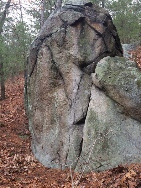 Rock Climbing Photo: Hawkes Pond 18.