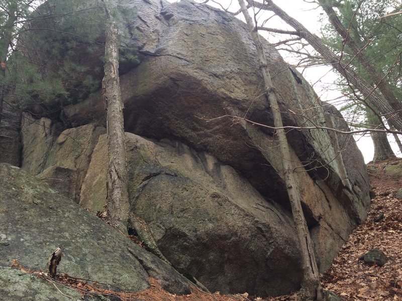 Rock Climbing Photo: Hawkes Pond 22.