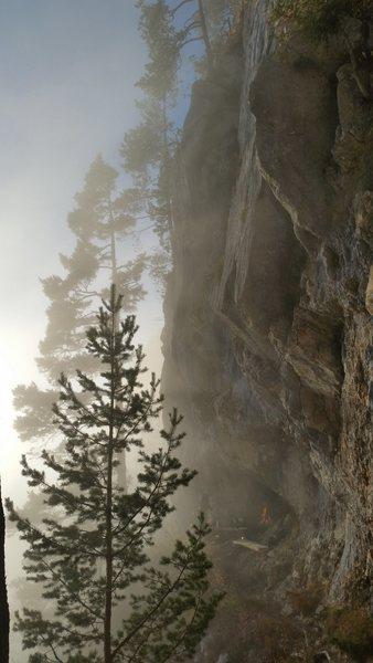 Rock Climbing Photo: Franzen