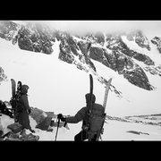 Rock Climbing Photo: Wind River Range, Winter 2015-16