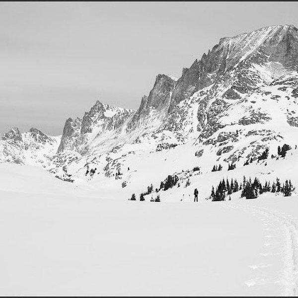 Rock Climbing Photo: The great white Corridor