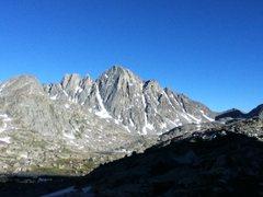 Rock Climbing Photo: Ellingwood from upper Indian Basin