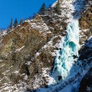 Rock Climbing Photo: Amazing ice