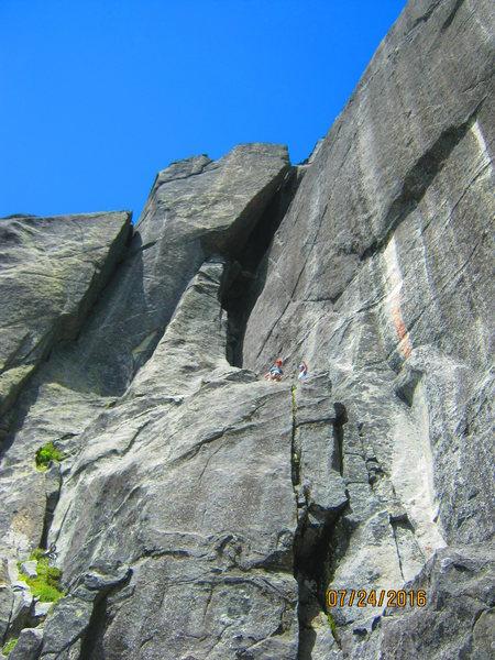 Rock Climbing Photo: Lions Head