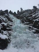 Rock Climbing Photo: Rainbow Falls