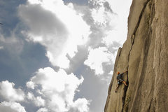 Rock Climbing Photo: Cruisin to the crux. Photo credit to Luke Anspach