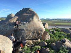Rock Climbing Photo: Ysel sending