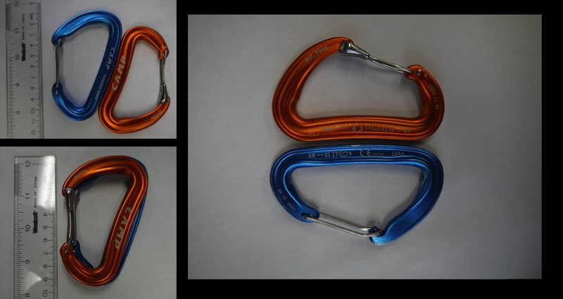 Figure 3. Dyon Review. Spine shaped compared of Dyon (Orange) and Photon Wire (Blue)