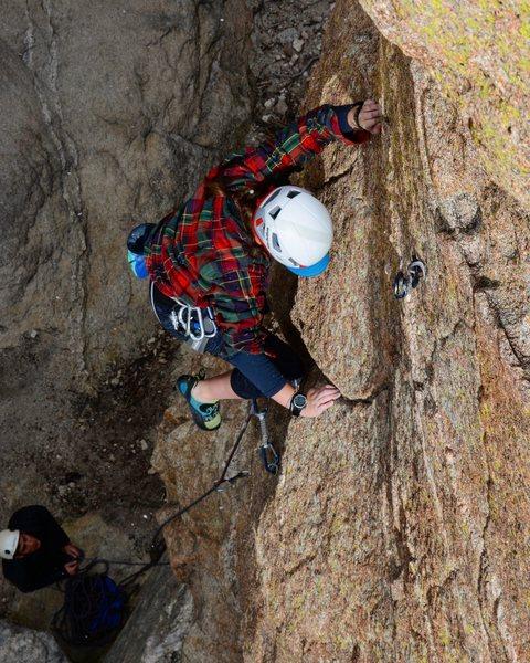 Climber: Zaynah Kmeid