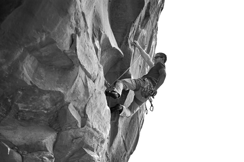 Climber: Justin Turner<br> Photo: Ryan Borys