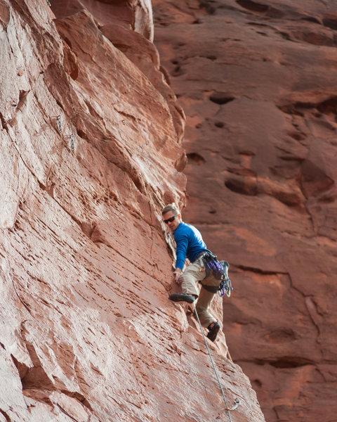 Climber: Justin Turner<br> Photo: Ryan Borys