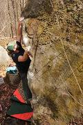 Rock Climbing Photo: Gravity's Rainbow