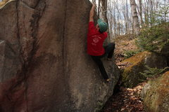 Rock Climbing Photo: Peter on Gravity's Rainbow