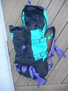 Rock Climbing Photo: Size adjustable pack