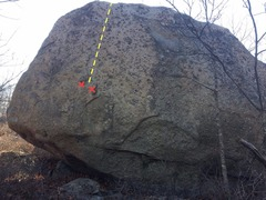 Rock Climbing Photo: Bow Ridge 25.