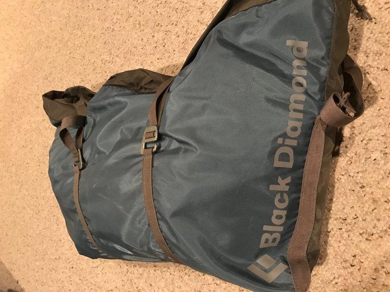 Black Diamond Rope Bag - $25