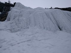 Rock Climbing Photo: Hubba Hubba Central Flow in pretty fat conditions ...