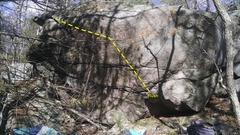 Rock Climbing Photo: Rush.