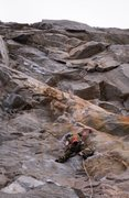 Rock Climbing Photo: Working through the Tangerine Dream