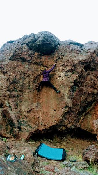 Rock Climbing Photo: Handlebar Willy V1