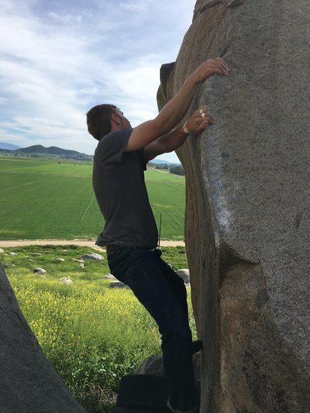 Rock Climbing Photo: Skyler sending