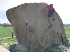 Rock Climbing Photo: Fun slab!