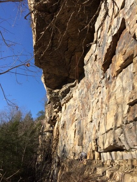 Rock Climbing Photo: Altered states is the line to the right of this ro...