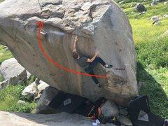 Rock Climbing Photo: My dead cat :(