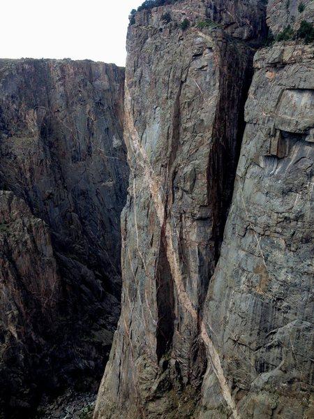 North Chasm view Wall.