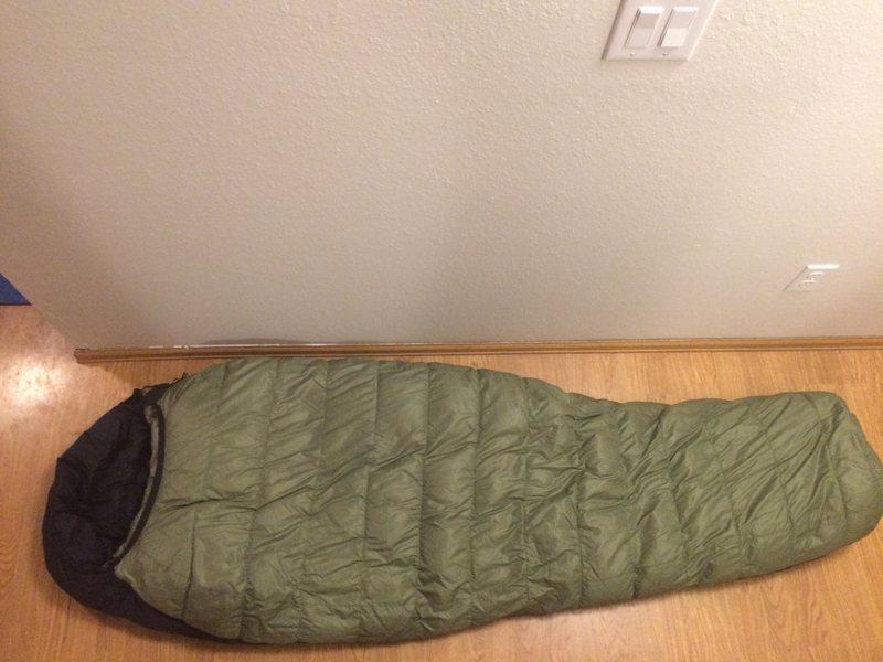 Rock Climbing Photo: sleeping bag
