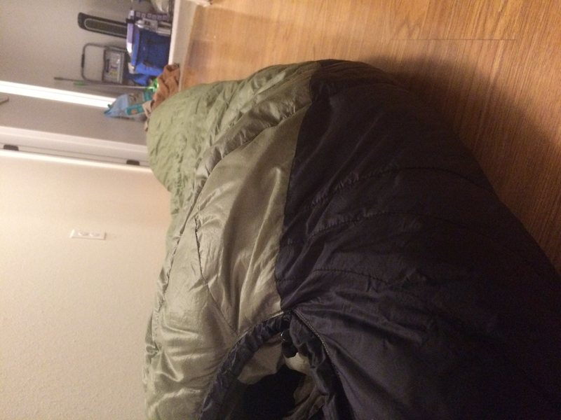 sleeping bag 2
