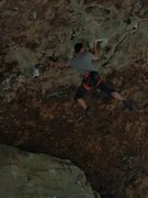 Rock Climbing Photo: Erik Kloeker on Maximum Overdrive, 5.13a, The Obed...