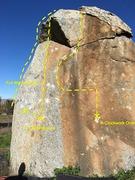 Rock Climbing Photo: Kubrick