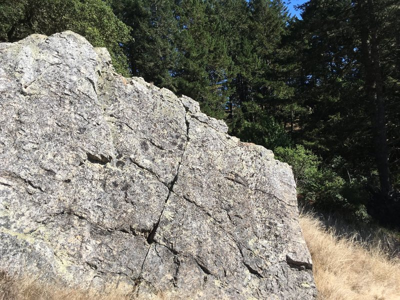 boulder shown, more attractive than the photo